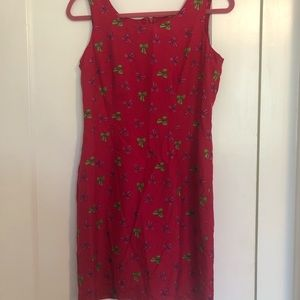 Vintage Lilly Pulitzer Pink Bow Shift Dress